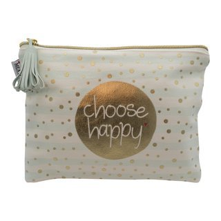 "Kosmetiktasche ""Choose happy"""